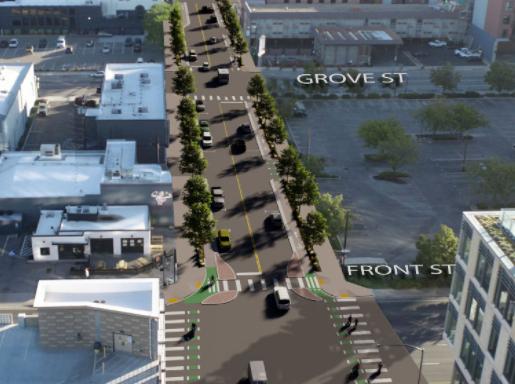 11th Street bikeway