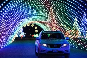 You asked: What's the large Christmas display at Expo Idaho for?