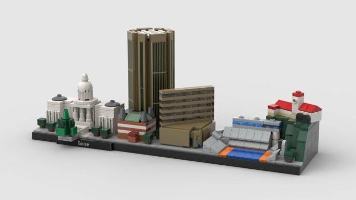 Lego Boise set