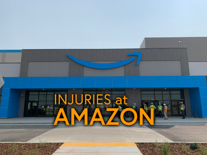 Amazon Nampa injuries