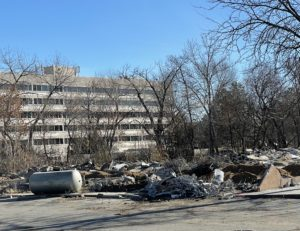 Decaying Boise gym torn down to make way for large apartment complex