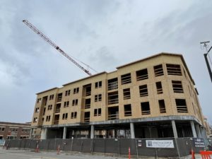 Going up: Old Town Lofts in Meridian takes shape as downtown area begins to change
