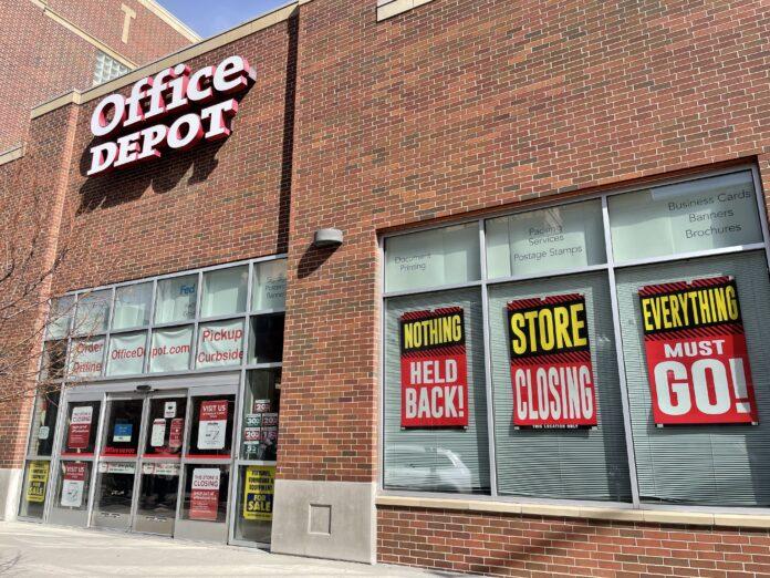 Office Depot Boise closing