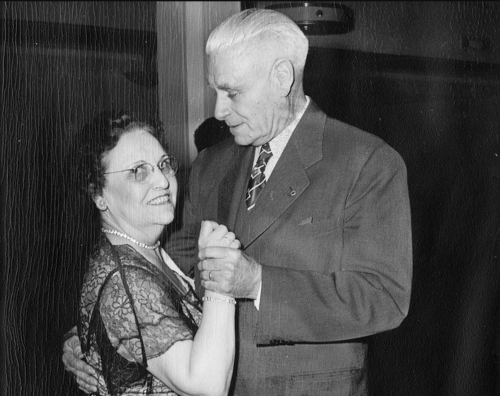 Ann Daly and Harry W. Morrison