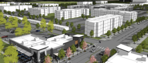 Meridian will allow taller buildings, new office and retail at Ten Mile & Franklin