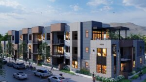New condos going up in Boise's Barber Valley, set to hit market soon