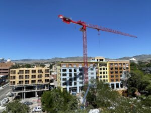 Going Up: Video of the progress of new Downtown Boise apartments, food hall & park