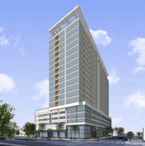 Wisconsin developer calls tall Downtown Boise apartment & parking project 'first-of-its-kind'