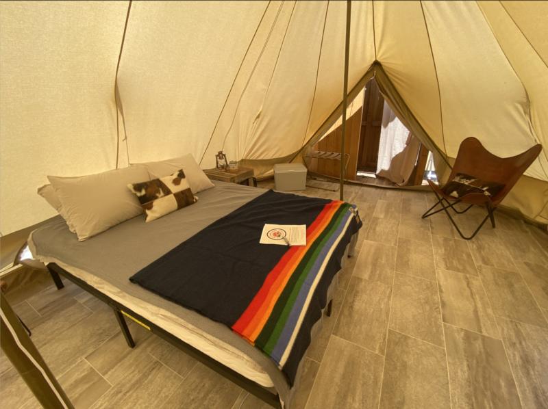 Vino Camping Idaho tens