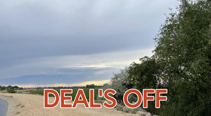 Murgoitio Park deal's off