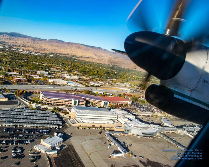 Boise Airport aerial