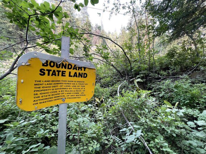 Trident land swap Idaho